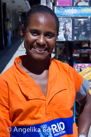 Gari - the street cleaners of Rio de Janeiro, Brazil