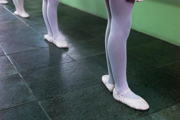 City of God ballerinas, Brazil, 2015.