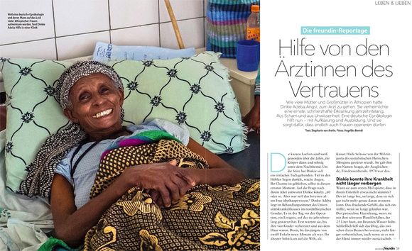 Angelika Berndt photography, a reportage on women's health in Ethiopia