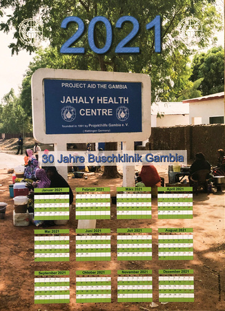 Supporting medical work in The Gambia