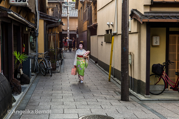 The streets of Japan - Tokyo and Kyoto characterised in three photos.