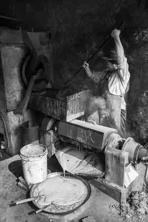 Oil Maker from my photo documentary project China Today