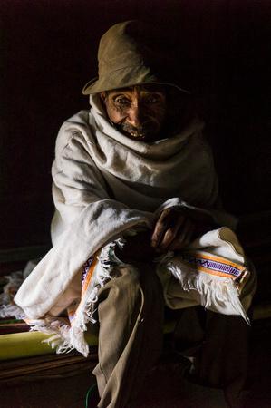Angelika Berndt working in Ethiopia